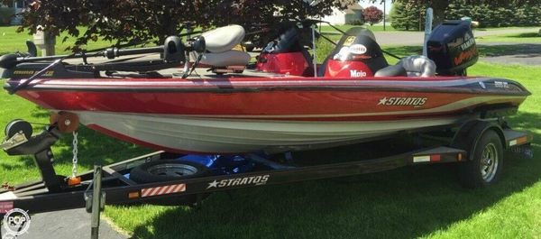 Used Stratos 285 XL Bass Boat For Sale