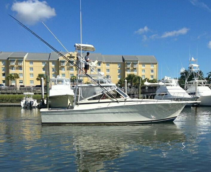 1985 used viking express sportfish express sports fishing for Used sport fishing boats for sale