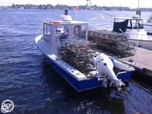 Used Privateer Renegade 24 Lobster Fishing Boat For Sale