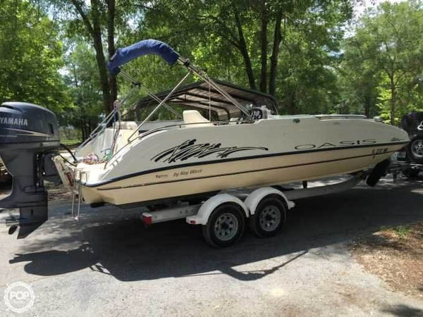 Used Key West 210LS Oasis Deck Boat For Sale