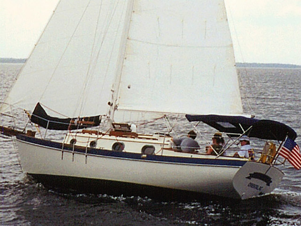 Used Pacific Seacraft Orion 27 Cutter Sailboat For Sale