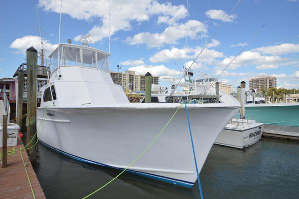 Used Buddy Harris Custom Carolina Sport Fisherman Convertible Fishing Boat For Sale