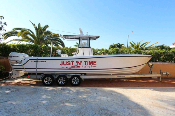 Used Contender Sport Fishing Sports Fishing Boat For Sale
