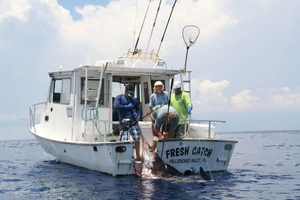 Used Kingfisher Pensacola 32 Saltwater Fishing Boat For Sale