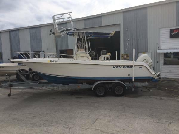 Used Key West 2300 Center Console Center Console Fishing Boat For Sale