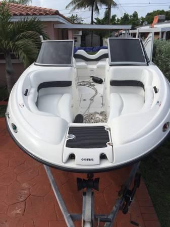 2006 used yamaha ar210 runabout boat for sale 19 000 for Used yamaha outboard motors for sale in florida