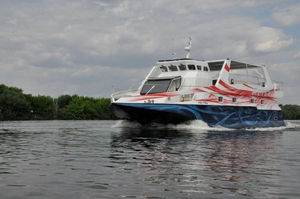 Used Catamaran Wave Piercing Power Catamaran Boat For Sale