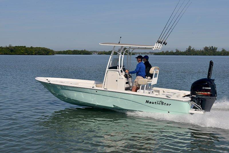 2017 new nautic star 227 xts center console fishing boat for Best fishing boats 2017
