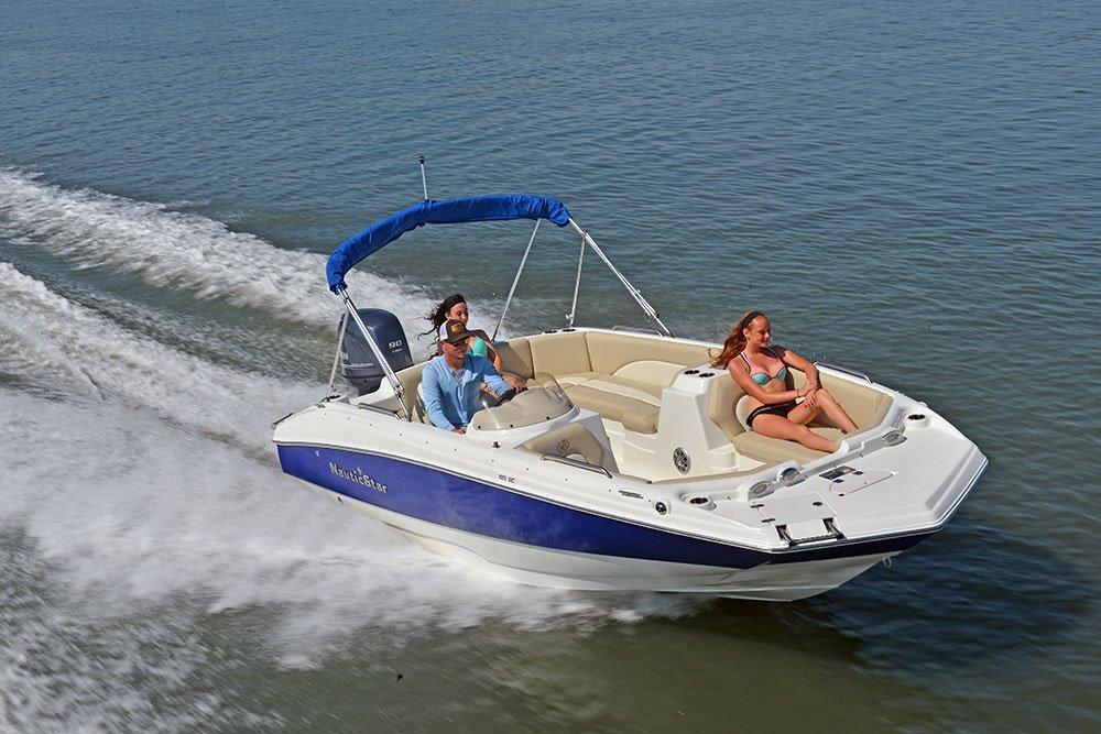 2017 New Nautic Star 193 SC Deck Boat For Sale - $26,038 ...