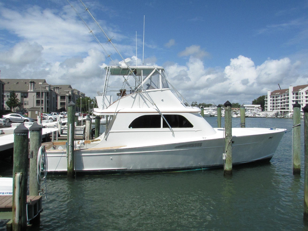 Used Graves Custom Carolina Sports Fishing Boat For Sale