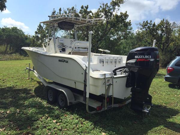 Used Sea Fox 256 Center Console Center Console Fishing Boat For Sale