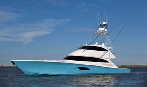 Used Viking Enclosed Bridge Convertible Fishing Boat For Sale