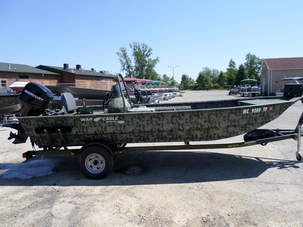 2010 Used War Eagle 860 Ldsv Jon Boat For Sale 12 995