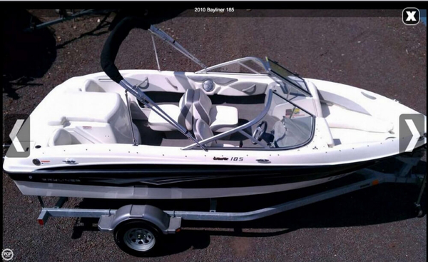 Used Bayliner 185 BR Bowrider Boat For Sale