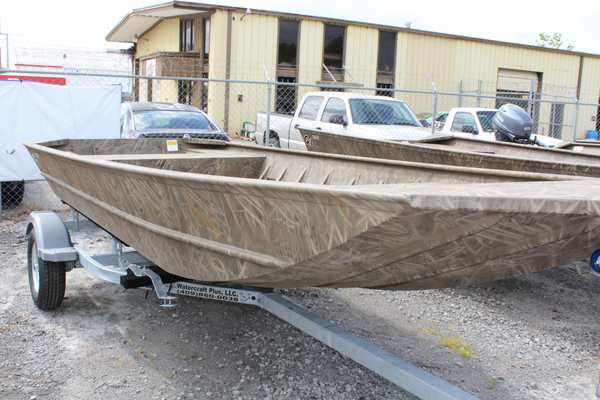 New G3 1652 VBW SHADOW GRASS CAMO Jon Boat For Sale