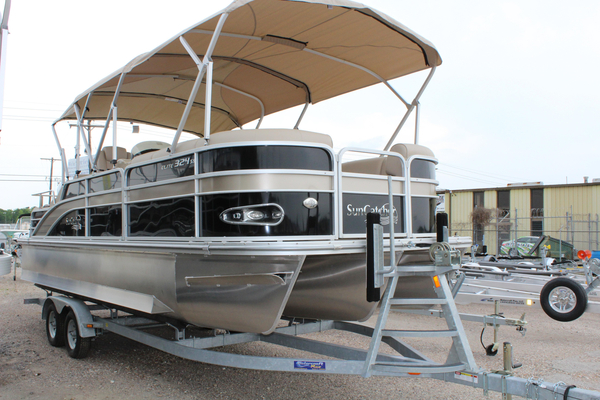 New Suncatcher X324 SS Pontoon Boat For Sale