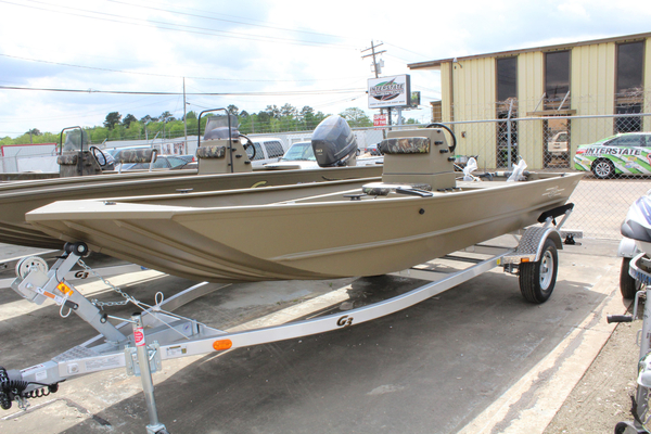 New G3 1756 CC Brown Jon Boat For Sale