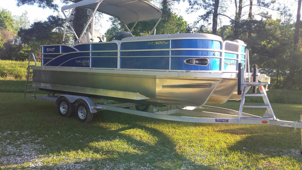 New Suncatcher X322 RF Pontoon Boat For Sale