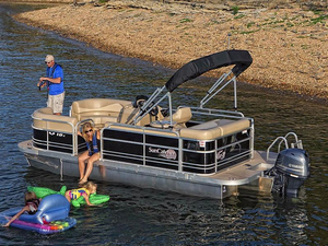 New Sun Catcher V18 C Pontoon Boat For Sale