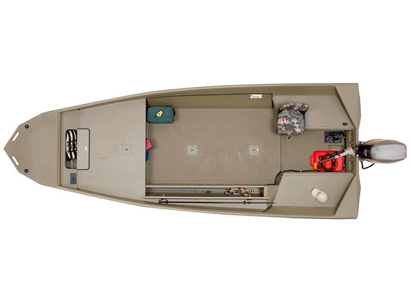 New G3 1860 DK Brown Aluminum Fishing Boat For Sale
