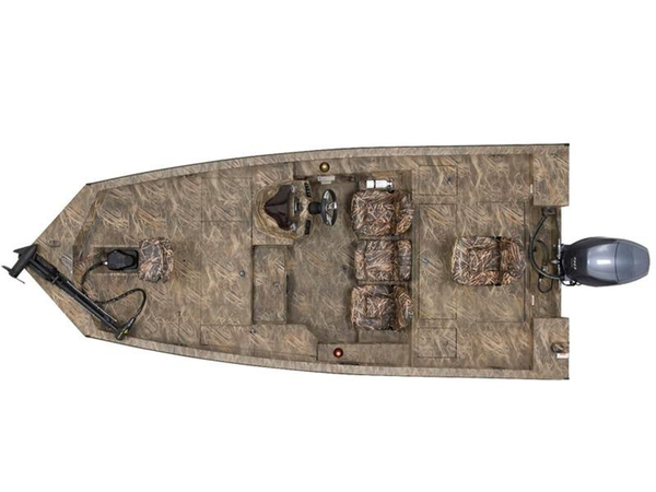 New G3 Sportsman 17 Camo Aluminum Fishing Boat For Sale