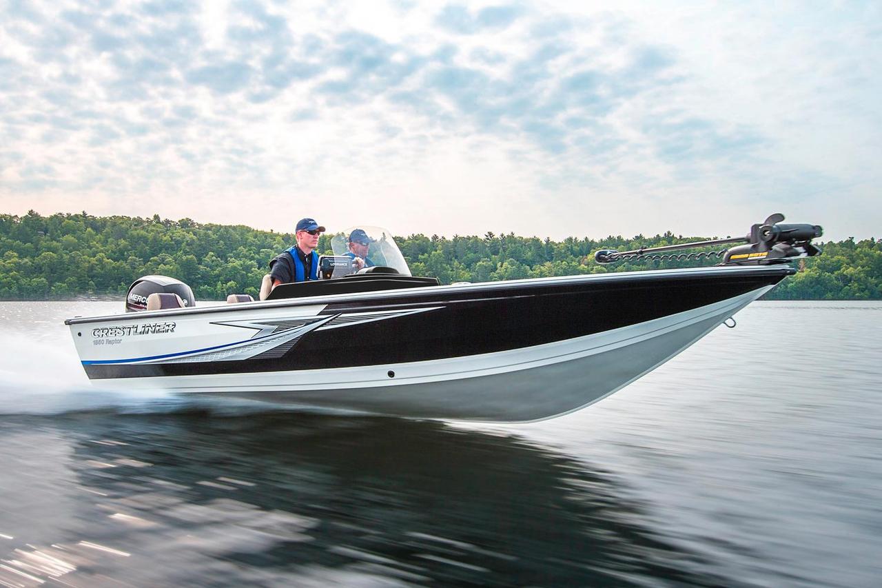 2016 new crestliner 1850 raptor wt aluminum fishing boat for Alaska fishing boats for sale