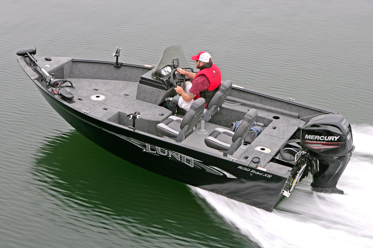 2016 new lund 1650 rebel xs ss freshwater fishing boat for for Alaska fishing boats for sale