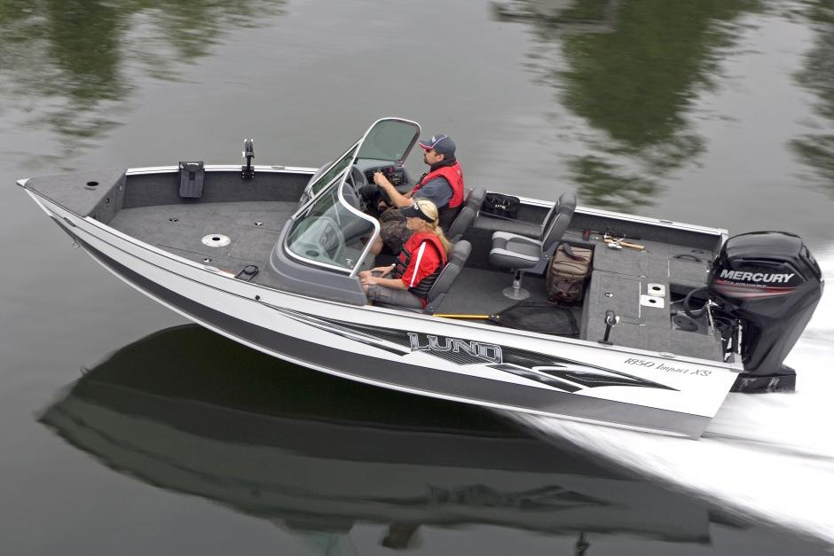 2016 new lund 1850 impact xs freshwater fishing boat for for Best freshwater fishing boats