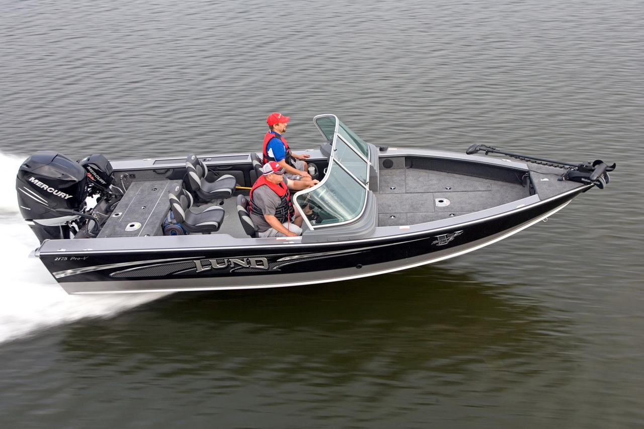 2016 new lund 2175 pro v aluminum fishing boat for sale for Alaska fishing boats for sale