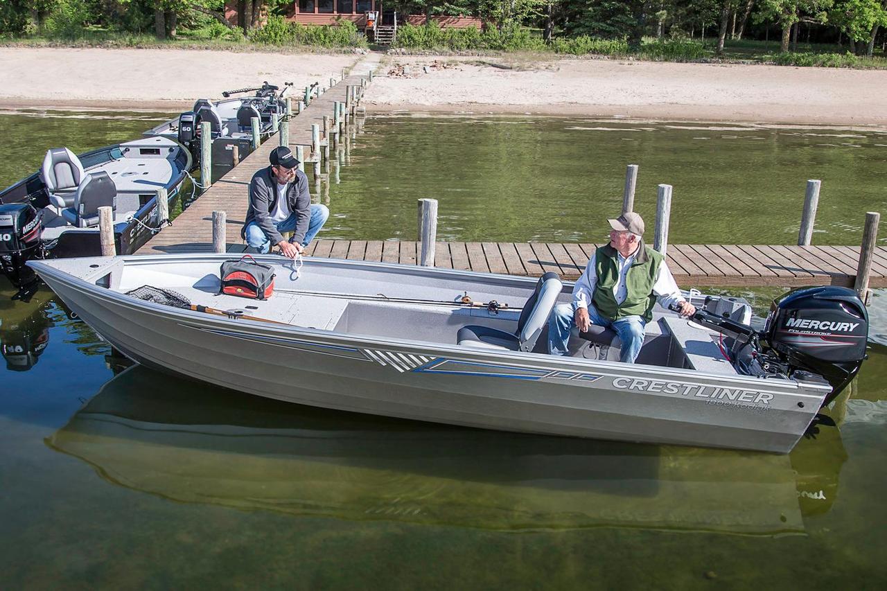 2016 new crestliner 1800 kodiak tiller freshwater fishing for Alaska fishing boats for sale