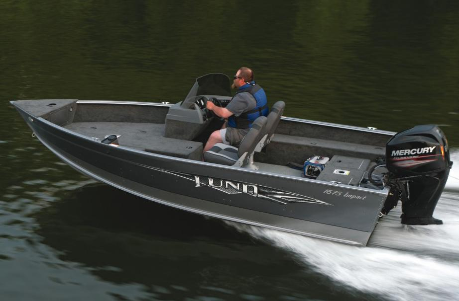 2016 new lund 1675 impact ss freshwater fishing boat for for Best freshwater fishing boats