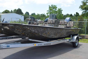 New War Eagle 961 Blackhawk CC Freshwater Fishing Boat For Sale