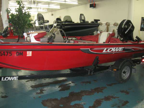 Used Lowe 175 Stinger Freshwater Fishing Boat For Sale
