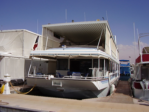 Used Stardust Custom Widebody Houseboat House Boat For Sale