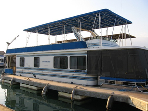 Used Stardust Custom Widebody House Boat For Sale