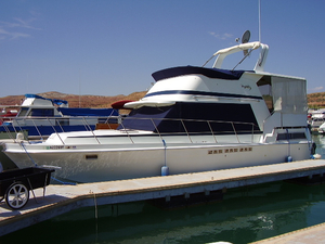 Used Uniflite 36 Double Cabin Other Boat For Sale