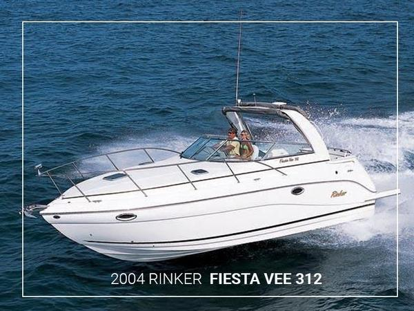 Used Rinker Fiesta Vee 312 Cruiser Boat For Sale