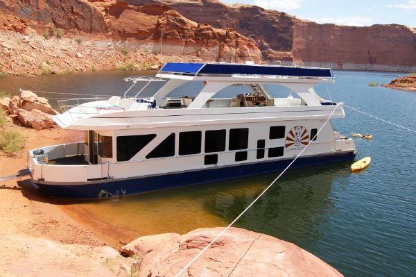 Used Desert Shore Multi Owner Houseboat House Boat For Sale