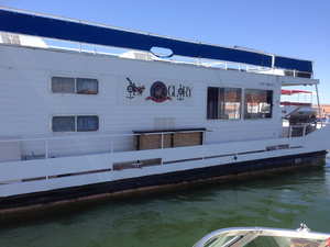 Used Kayot House Boat For Sale
