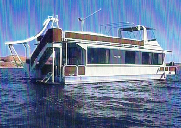 Used Skipperliner Flybridge Houseboat House Boat For Sale