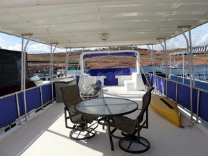 Used Sumerset Houseboat 55x15 House Boat For Sale