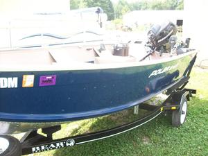 Used Polar Kraft 1470L Aluminum Fishing Boat For Sale
