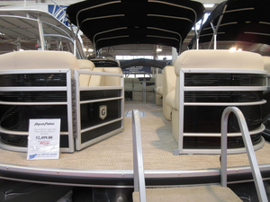 New Aqua Patio AP 220 ULC Triple Tube Pkg. Pontoon Boat For Sale