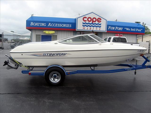 Used Stingray Boats 180RX Runabout Boat For Sale