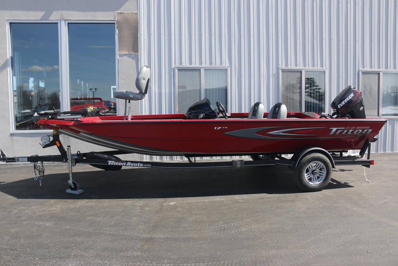 2016 new triton boats 17 tx center console fishing boat for New fishing boats for sale