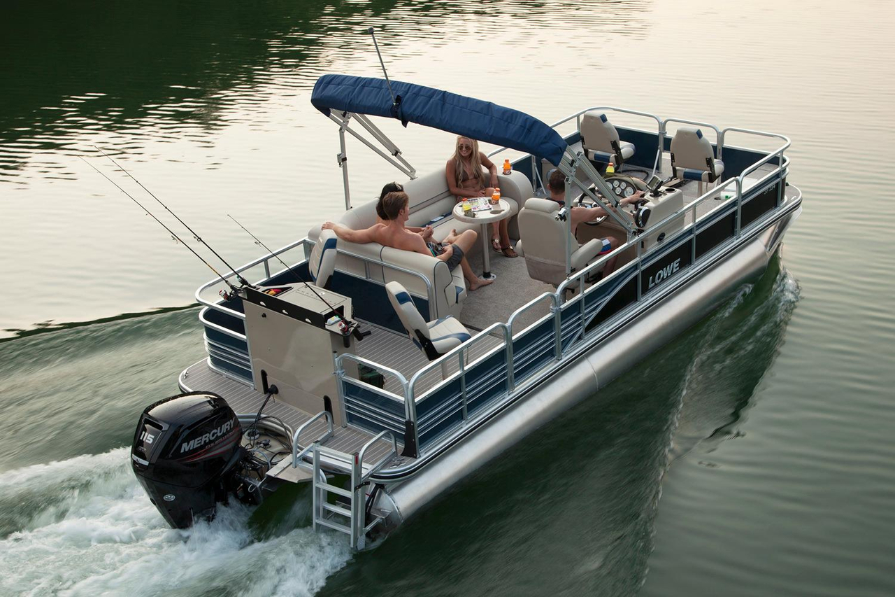 2016 new lowe sf234 sport fish pontoon boat for sale for Fish for sale near me