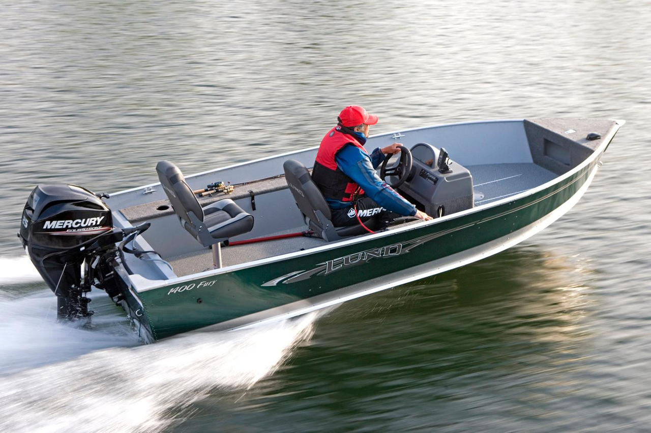 2016 new lund 1400 fury ss freshwater fishing boat for for Best freshwater fishing boats