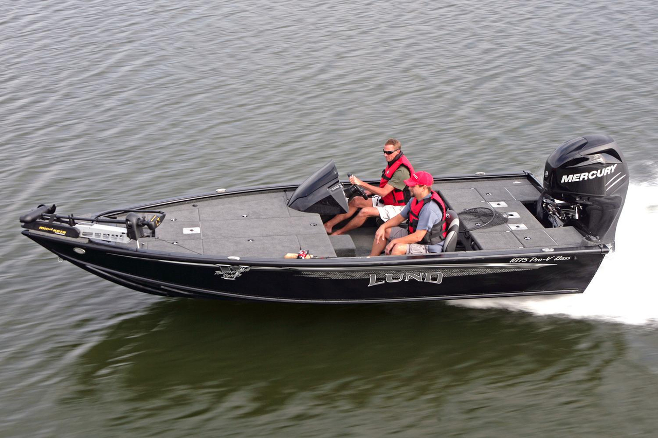 2016 new lund 1875 pro v bass boat for sale oakland me for Fishing boat dealers near me
