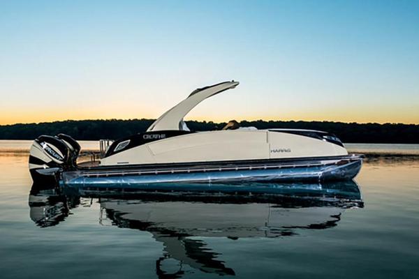 2016 New Harris Crowne SL 250 Twin Engine Pontoon Boat For ...