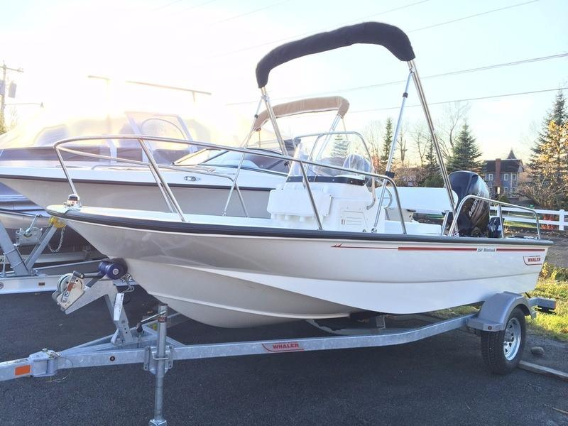 2016 new boston whaler 150 montauk center console fishing for Fishing boat dealers near me
